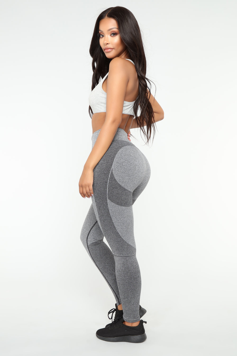 First Place Babe Seamless Leggings - Charcoal