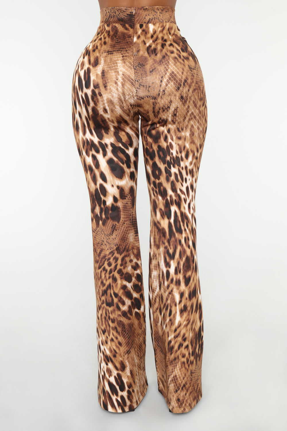 Shaniece Flare Pants - Brown