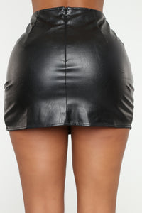 Flame In Your Heart Skirt - Black