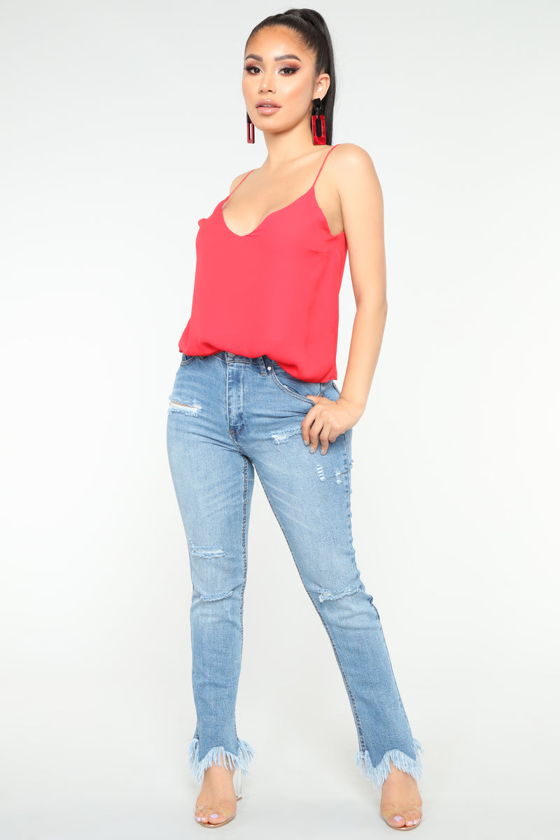 Sweet Envy Top - Red
