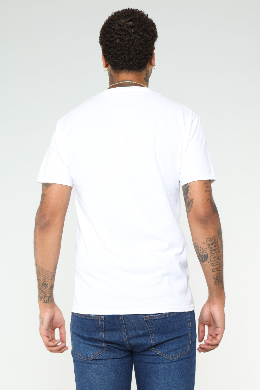 Free Short Sleeve Tee - White