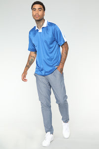 Johnson Soccer Jersey - Blue