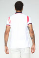 Tristan Short Sleeve Polo - White