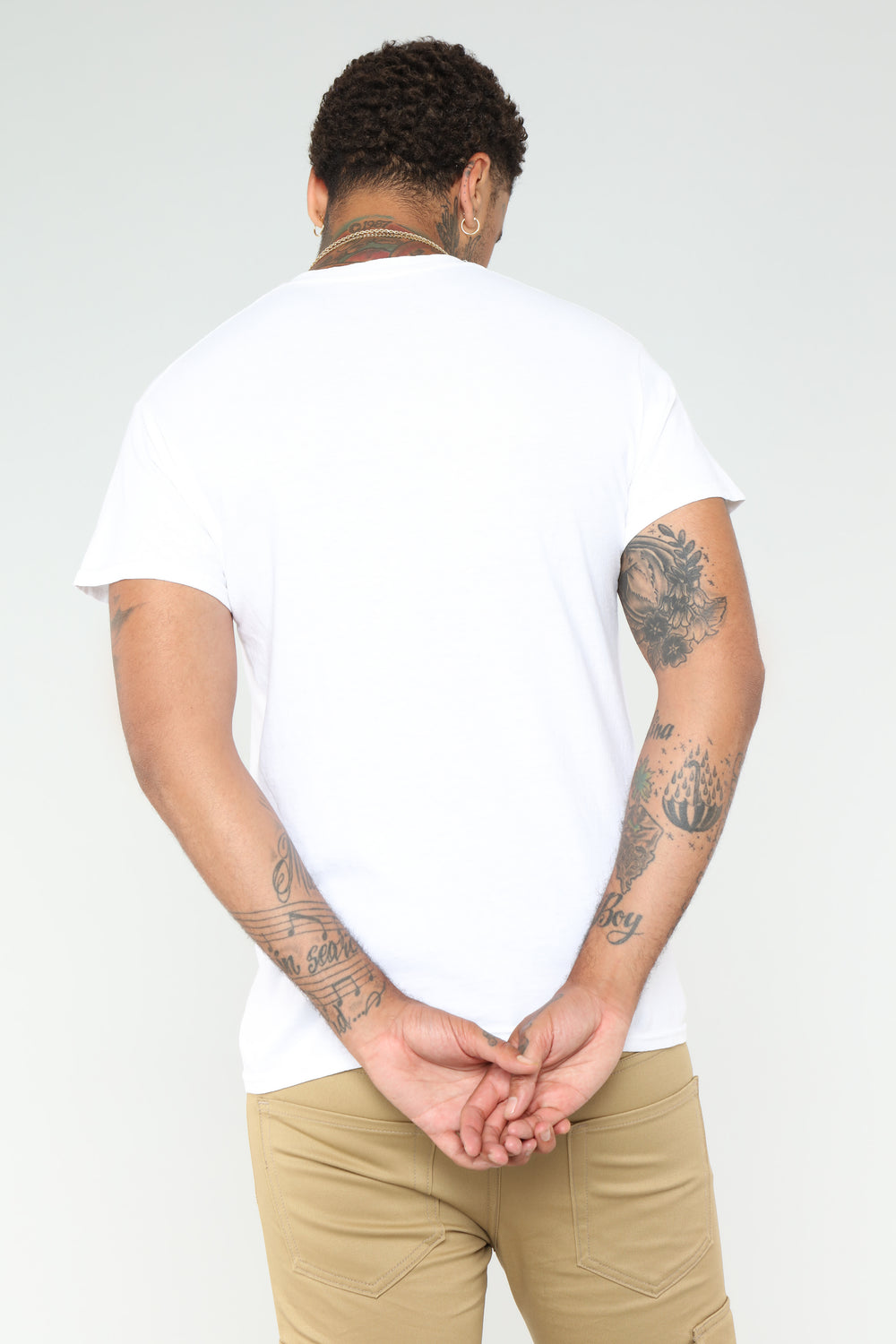 Please Short Sleeve Tee - White