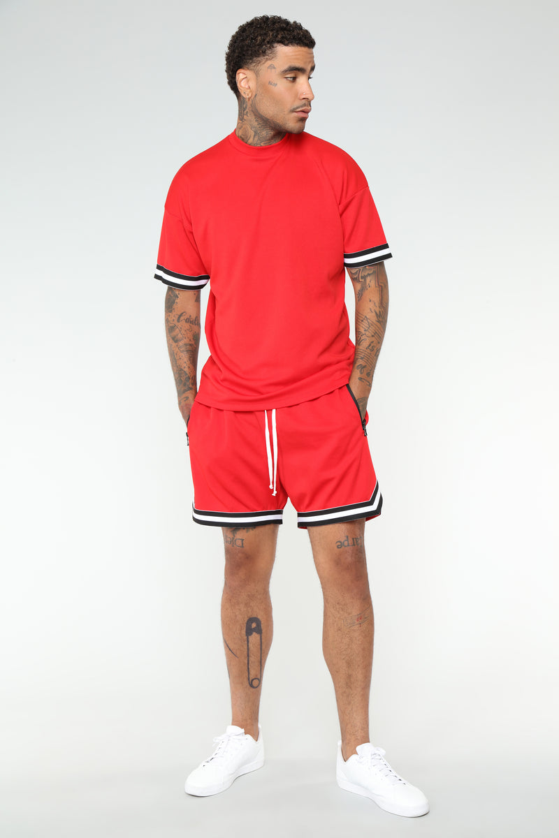 Dwayne Basketball Shorts - Red