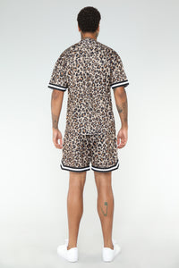 Butler Basketball Shorts - Leopard