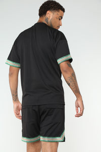 Payton Short Sleeve Tee - Black