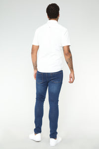 Cornell Slim Jeans - Dark Wash