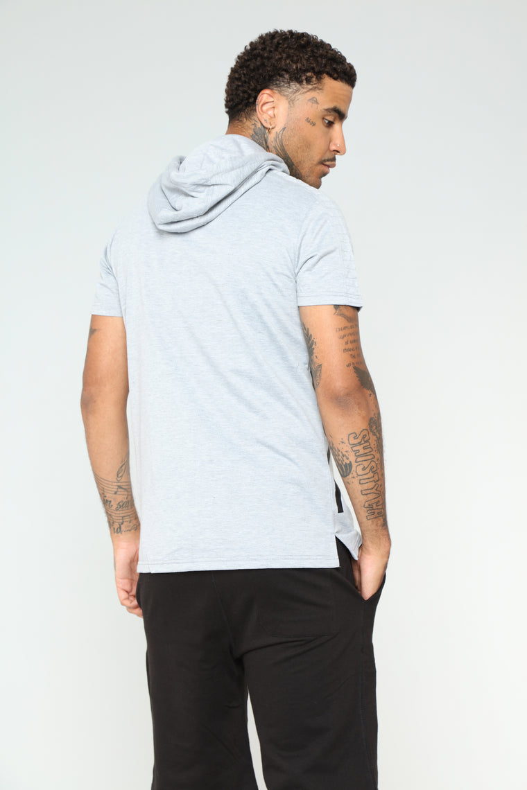 Larry Athletic Hoodie - Grey