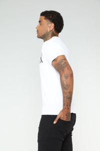 GIVEAF#*k Short Sleeve Tee - White