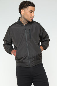 Willy Bomber Jacket - Black
