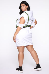 What's Not To Love Mini Dress - White Angle 7