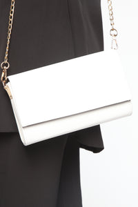 Just Going Out Crossbody Bag - White