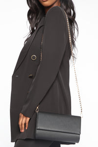 Just Going Out Crossbody Bag - Black Angle 1