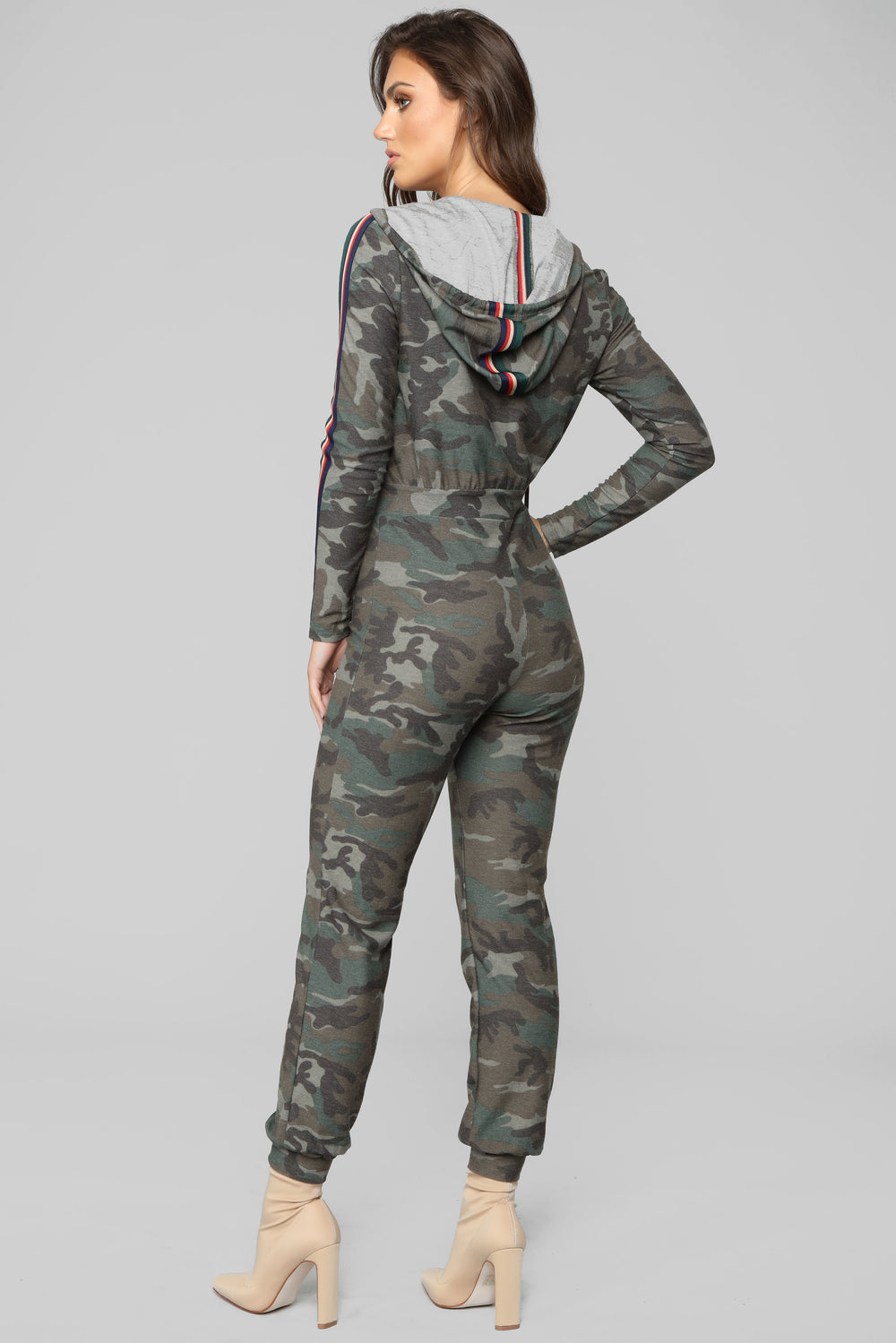 Strength Of A Team Jumpsuit - Camo