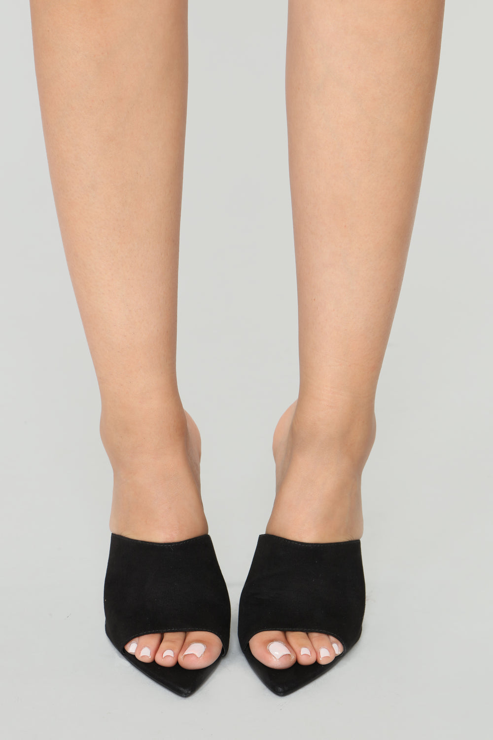 Point Me out Mule Heel - Black