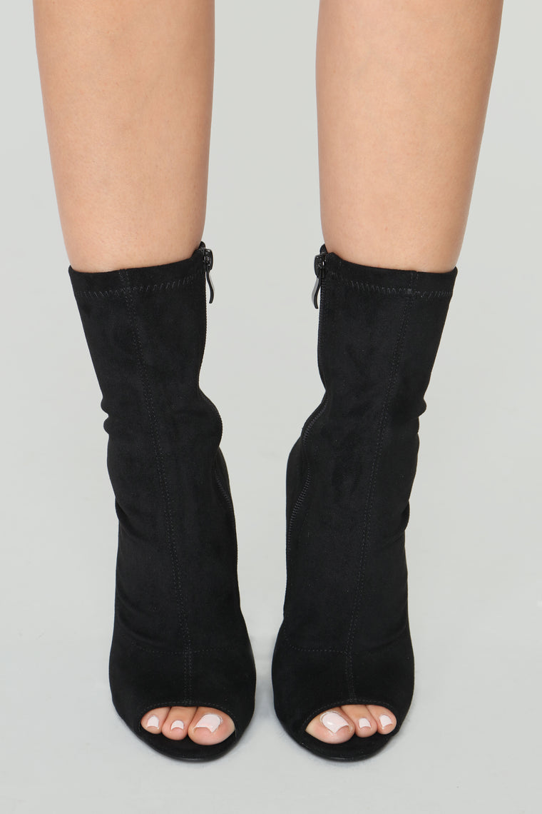 Nothing More Than Friends Booties - Black
