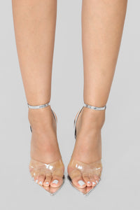 Judgement Free Heeled Sandal - Silver Angle 3