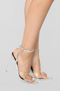Judgement Free Heeled Sandal - Silver Angle 1