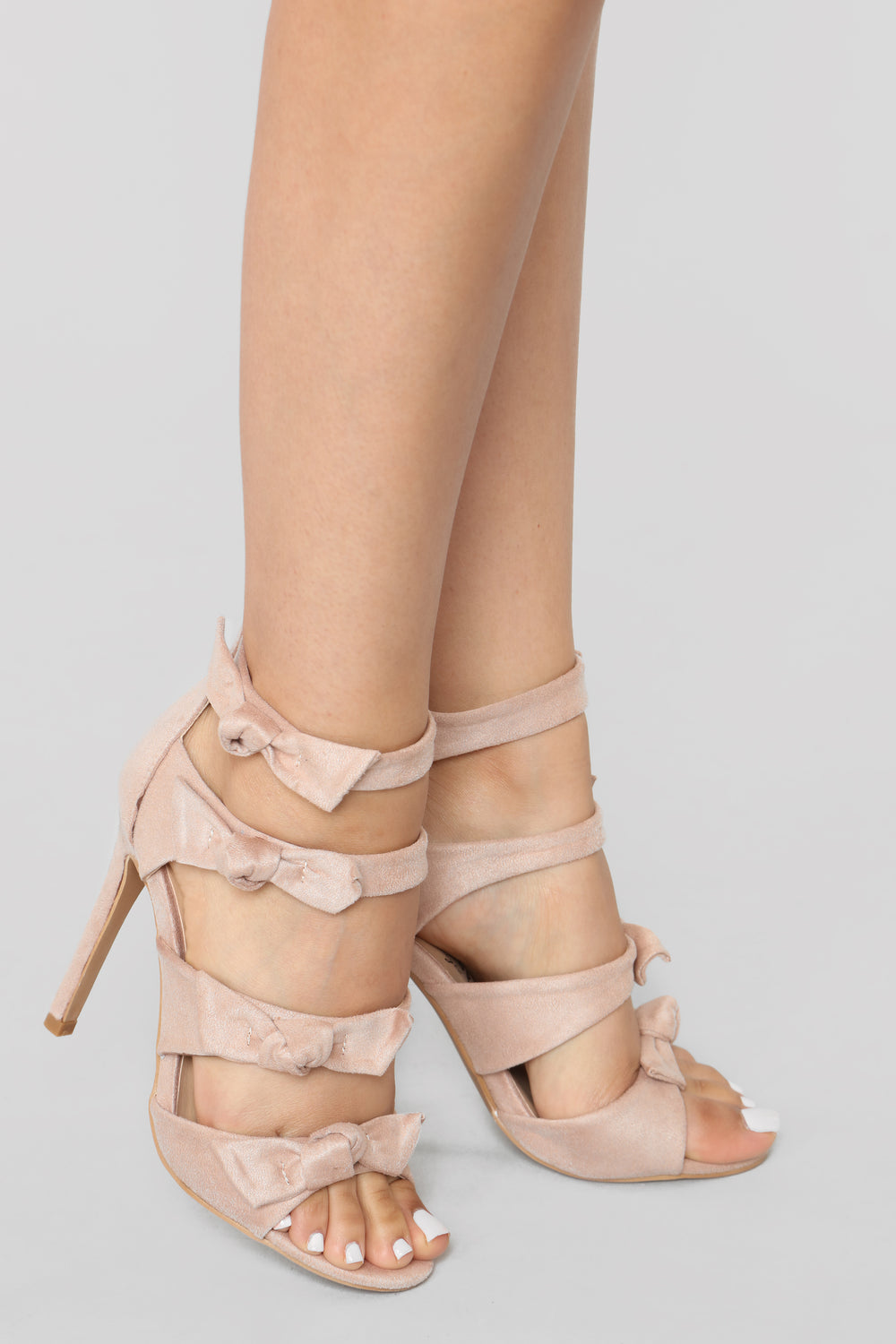 Ready To Mingle Heels - Blush