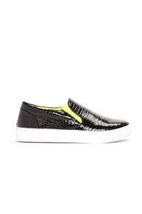 Serpent Secret Sneaker - Black