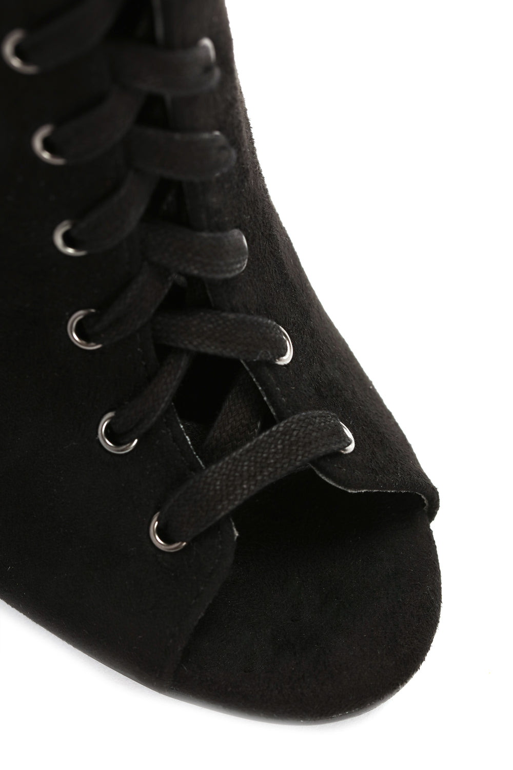 Calf A Heart Booties - Black