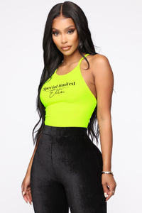 Special Limited Edition Bodysuit - Neon Yellow