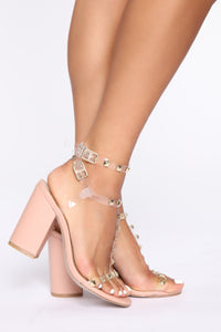 Don't Know Why Heeled Sandals - Nude