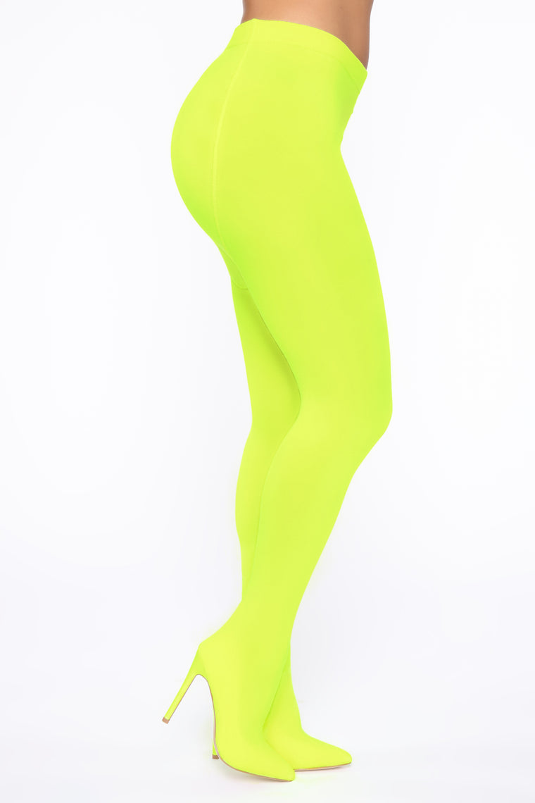 You Alright Heeled Boots   Neon Yellow by Fashion Nova
