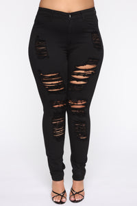 Havin It Skinny Jean - Black Angle 8