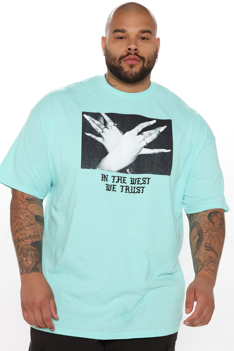 Trust The West Short Sleeve Tee - Mint