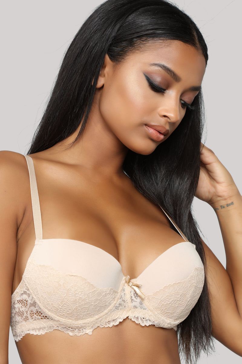 Love Both Ways Push Up Bra - Nude