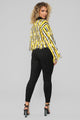 Say No More Sweater - Mustard/Combo