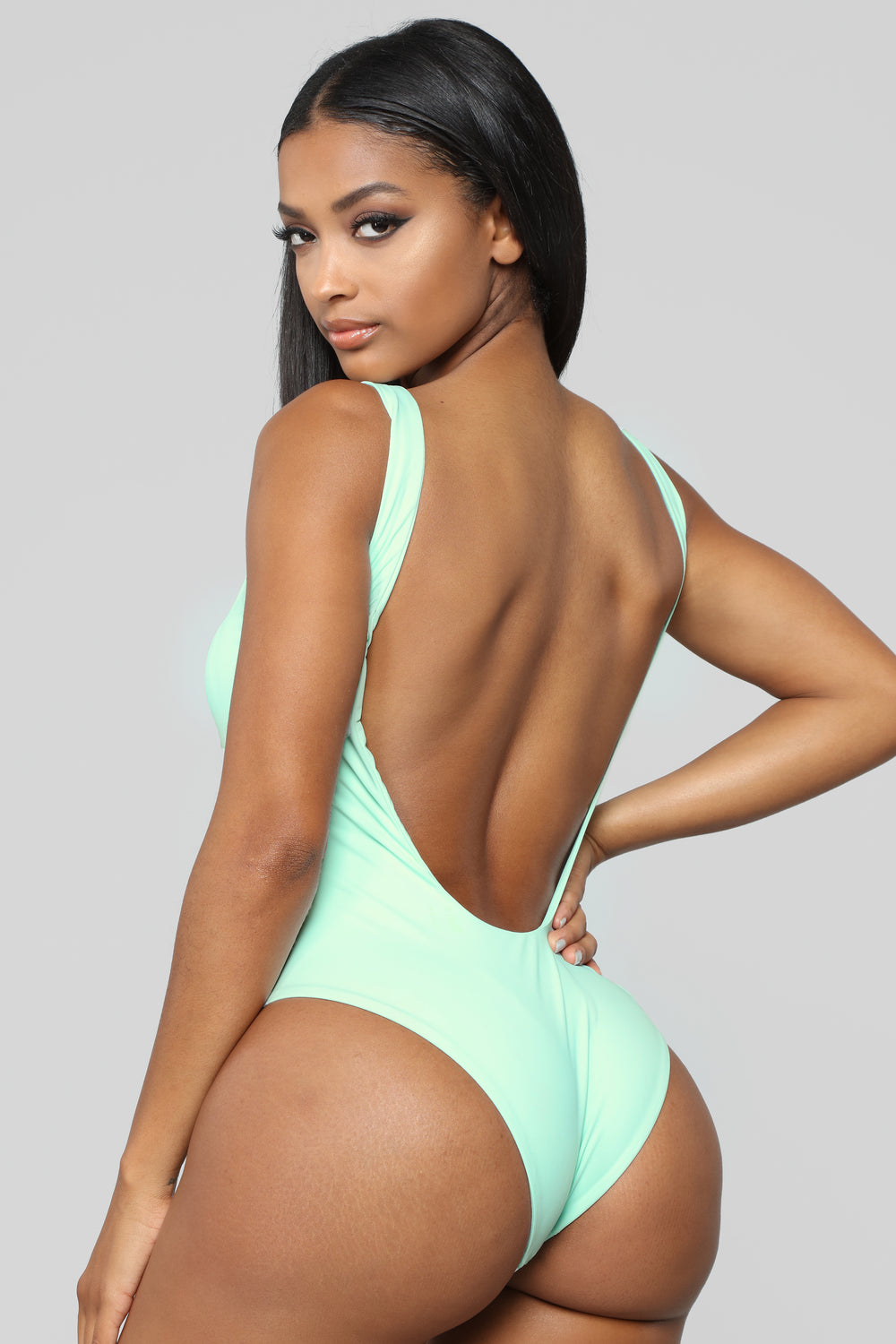 Endless Waves Swimsuit - Mint