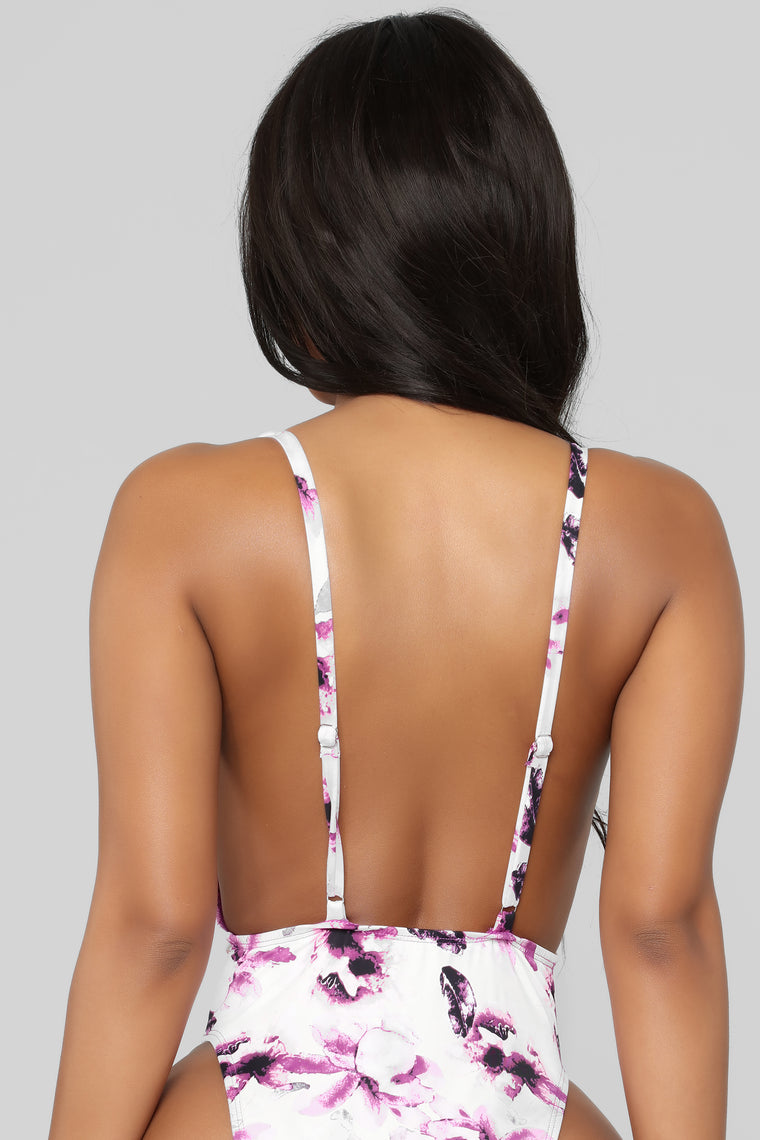 Sunburst Swimsuit - Purple/Combo