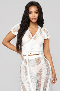 Intimate Waters Coverup - Ivory