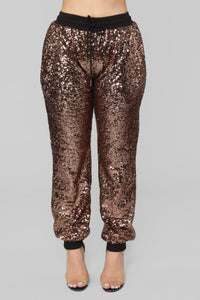 All That Glimmers Sequin Set - Bronze