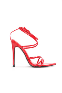 Point You In The Right Direction Heel - Red