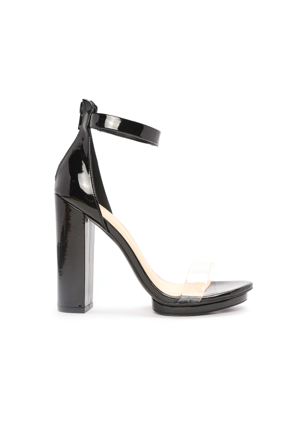 Strap You In Heels - Black