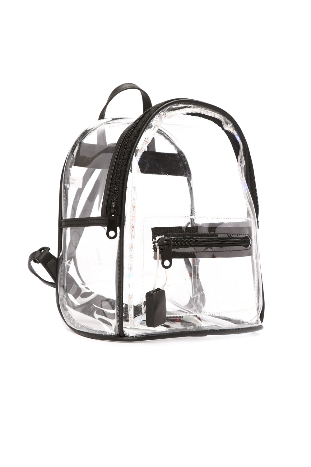 Getting Lit Backpack - Clear
