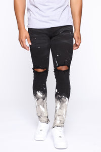 Impression Skinny Jeans - Black