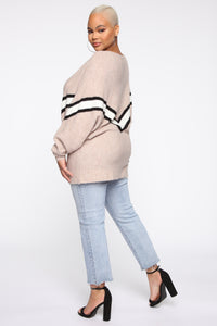 Focus On Me Sweater - Taupe