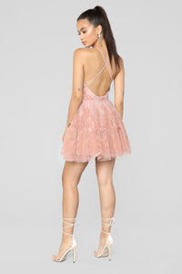 Maise Tulle Dress - Blush