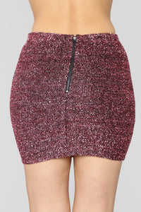 Certified Party Girl Skirt - Pink