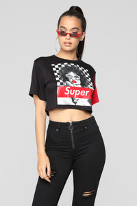 Super Babe Top - Black