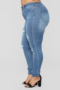 Such Great Heights Skinny Jeans - Dark Denim Angle 10