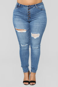 Such Great Heights Skinny Jeans - Dark Denim Angle 7