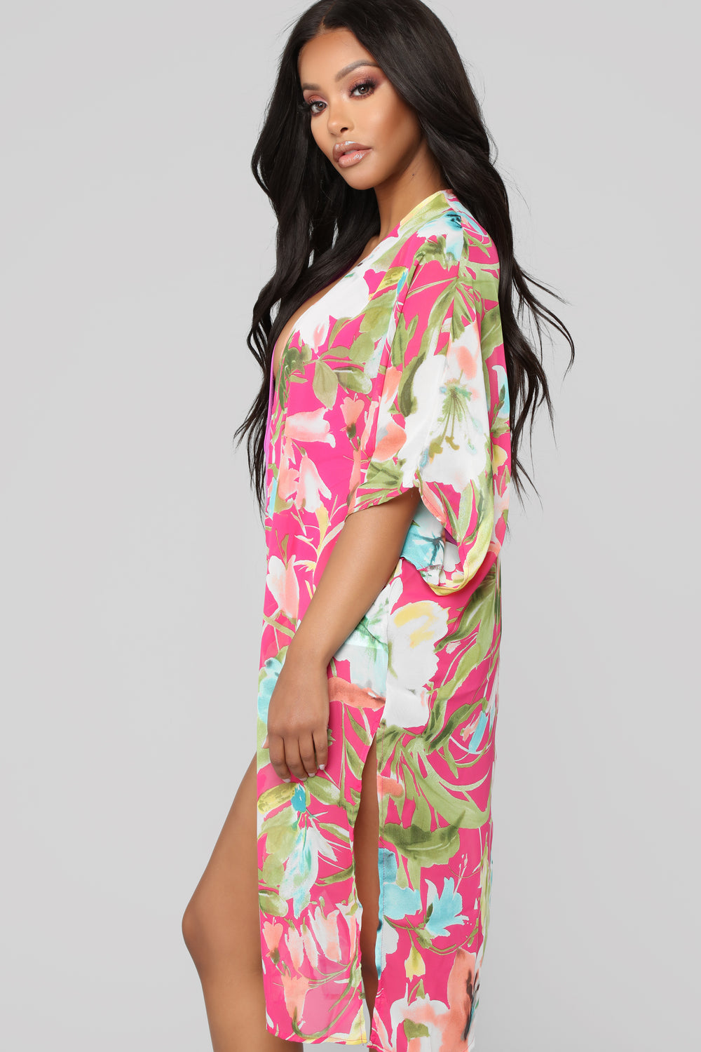 From Eden Kimono - Pink Combo