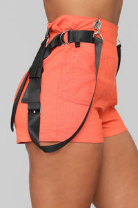 Keep It Chill Shorts - Orange