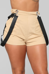 Keep It Chill Shorts - Khaki